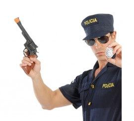 Set Pistola Magnum y chapa de Policía