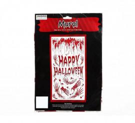 Decoración puerta para Halloween de 76x152 cm