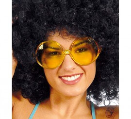 Gafas de hippie grandes