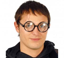 Gafas redondas con cristales
