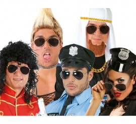 Gafas de Michael Jackson o de Policía, Piloto, etc
