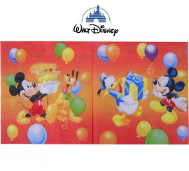 Bolsa de 20 servilletas Mickey