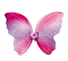Alas de Mariposa rosa 36 cms.