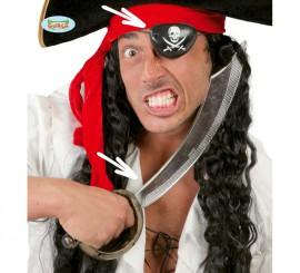 Conjunto de Sable pirata 47 cm. con parche