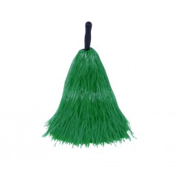 Pom-pom de rafia verde
