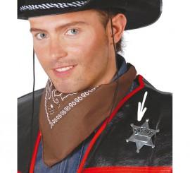 Estrella o Placa de Sheriff metálica