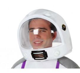 Casco de Astronauta para adultos de 30x24 cm