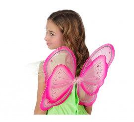 Alas de Mariposa rosa de 44x37 cm