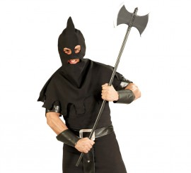 Hacha Verdugo de plástico de 120 cm. para Halloween