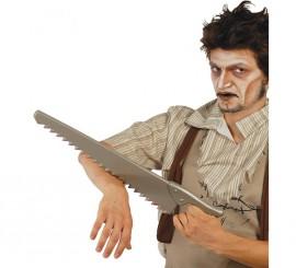 Serrucho de plástico de 53 cm. para Halloween