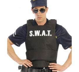 Chaleco antibalas de Policía SWAT para adulto
