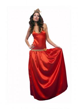 Déguisement Princesse Rouge pour Femme taille M-L
