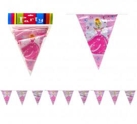 Banderillas de Princesa para Cumpleaños de 3 m.
