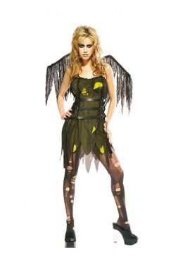 Disfraz Campanilla Maldita con alas para Halloween