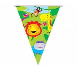 Banderillas de la Jungla para Cumpleaños de 3 m.