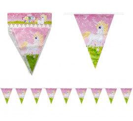 Banderillas de Unicornio para Cumpleaños de 3 m.
