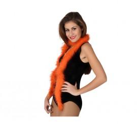 Boa de 20 gr de color naranja de 185 cm
