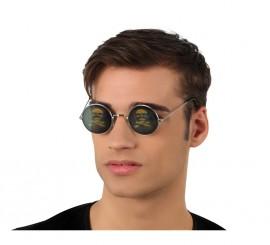 Gafas Holográficas redondas con Calaveras