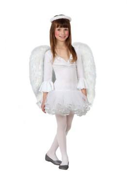 Disfraz de Ángel blanco para niñas