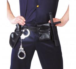 Cinturón de Policía con accesorios