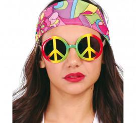 Gafas de Hippie Multicolor