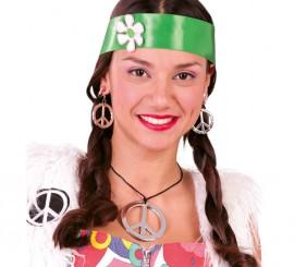 Conjunto Hippie de collar y pendientes