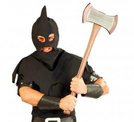 Hacha 2 filos de Ejecutor de 73 cm para Halloween
