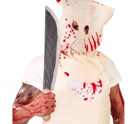 Machete para Halloween de Killer Butcher de 53 cm.
