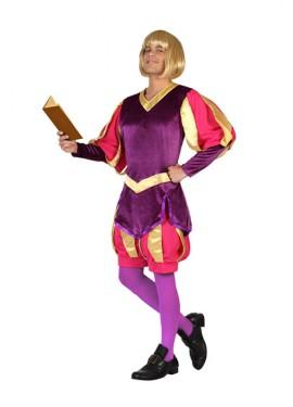 Déguisement Roi Médiéval Rose et Lila pour homme plusieurs tailles