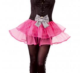 Tutú rosa de Pirata con calavera para mujer
