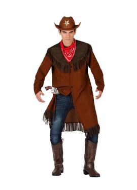Disfraz para hombre de Vaquero marrón