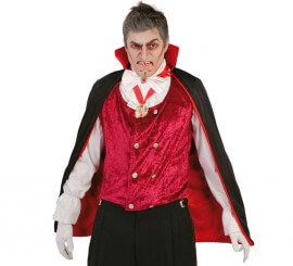 Capa de Vampiro de 90 cm para Halloween