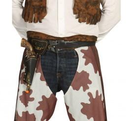 Cartuchera con pistola de 29 cm de Vaquero