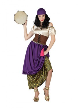 Disfraz para mujeres de Gitana