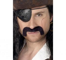 Bigote o Mostacho Negro Pirata