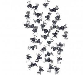 Bolsa de 70 Arañas para Halloween