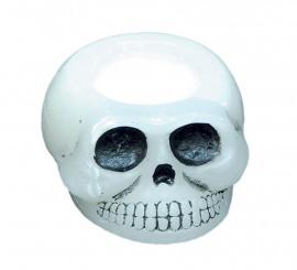 Vela Calavera de 10 cm 2 surtidos para Halloween