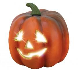 Calabaza con luz de 26cm para para Halloween