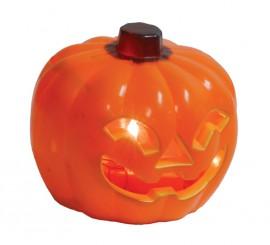 Calabaza de 10cm para decorar en Halloween
