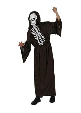 Disfraz de Esqueleto para hombre talla M-L