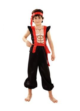 Déguisement de Ninja Musclé pour enfants plusieurs tailles