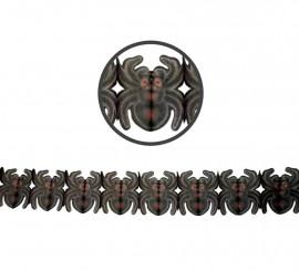 Guirnalda Arañas de papel de 19x300 cm
