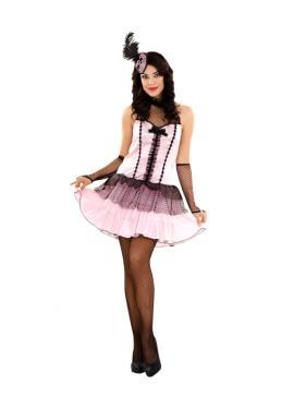 Disfraz de Bailarina de Cabaret para mujer talla M-L