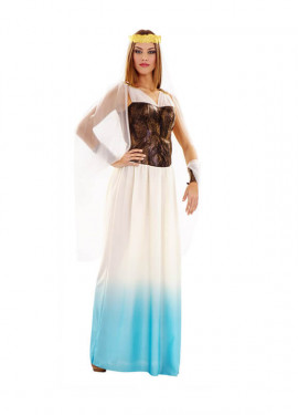 Disfraz de Diosa Romana Lujo para mujer talla M-L