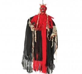 Colgante Demonio de 110 cm para decorar en Halloween