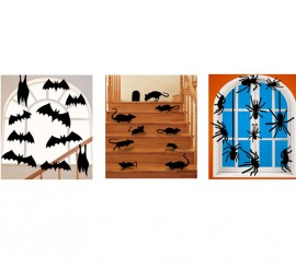 Siluetas Surtidas de Animales de 8.5x16.5 cm para Halloween
