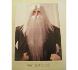 Perruque de Magicien avec une barbe