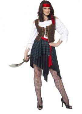 Disfraz de Mujer Pirata Corsaria