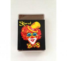 Cajita de maquillaje graso de color Marrón de 25 gr.