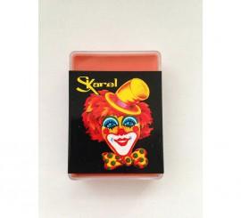 Cajita de maquillaje graso de color Naranja de 25 gr.